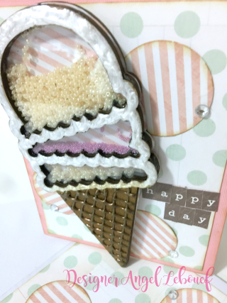 Ice Cream Card Close up 2