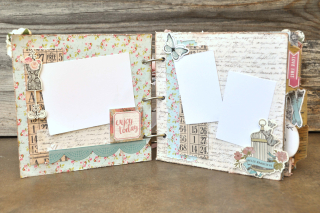 Mini album_clearscraps_nancy keslin_distressed