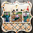 Fall Photo Wall Hanging