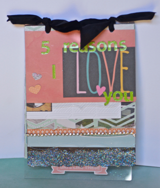Clear Scraps 5 Reason Mixable Album by Pinky Hobbs - 1