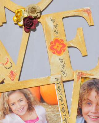 Love_clear scraps_wall art_nancy keslin_close up
