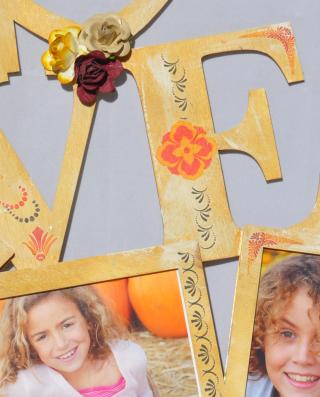 Love_clear scraps_wall art_nancy keslin_close up