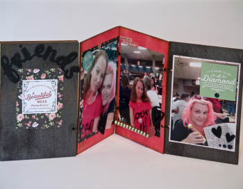 Creating Made Easy February Kit Wood Shaker Album - 2