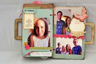 Family_mini album_clearscraps_luggage_nancy keslin