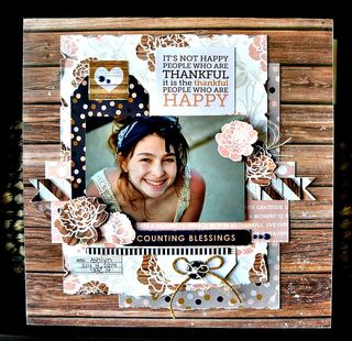 Counting blessings layout