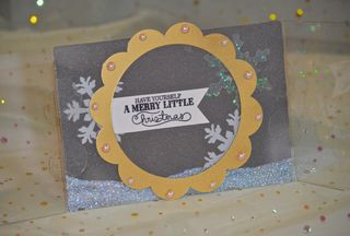 Clear Scraps Christmas Card Send It Clear Krylon Pinky Hobbs3