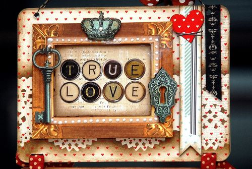 True_Love_Hanging_Frame_Irene_Tan_BoBunny_Star-Crossed_collection_02