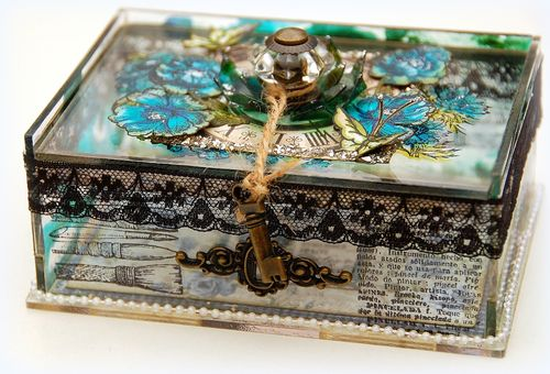Altered Acrylic Box by Irene Tan 1