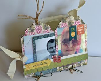 August Creating Made Easy Kit Mixable Travel Album  Pinky Hobbs Mixed Media1
