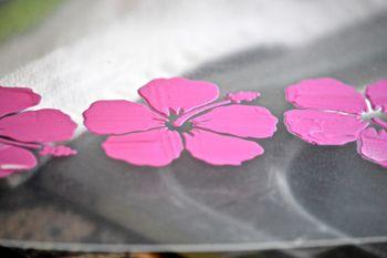 August Creating Made Easy Kit Acrylic Circle Layout Pinky Hobbs Mixed Media2