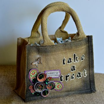 Creating Made Easy October Kit Pinky Hobbs Banner Take A Treat Bag1