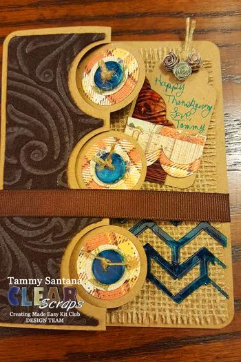 Clear scraps november kit card 4
