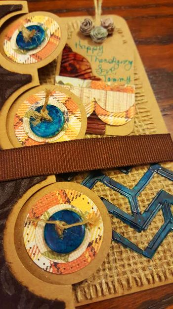 Clear scraps november kit card 6