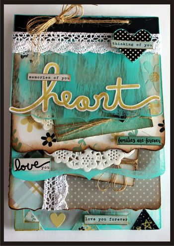 April Kit from the Heart- Susan Frase