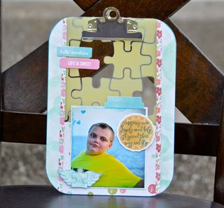 Autism Awareness Clipeboard Craft by Pinky Hobbs Clear Scraps1