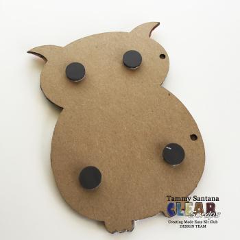 Owl magnet 2