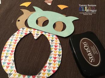 Owl magnet 7