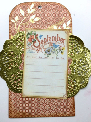 Clear Scraps September Tag Angel LeBouef Step 3