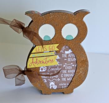 Creating Made Easy September Kit Owl Album Pinky Hobbs4