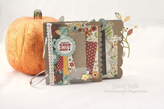 Simply the best_mini album_clear scraps_cover_nancy keslin