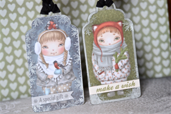 Janary Kit Creating Made Easy Snow Tags Pinky Hobbs - 2