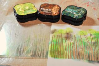 Butterfly_stencil_clearscraps_card_nancy keslin_grass