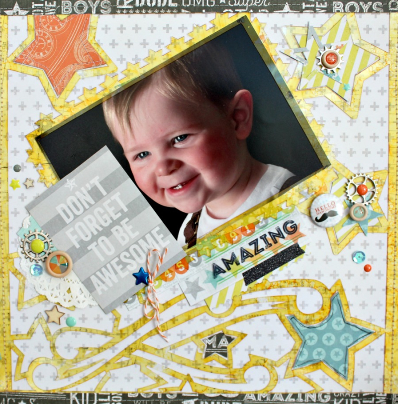 Clear_Scraps_Shooting_Stars_Acrylic_12x12_Layout