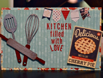 Clear Scraps Kitchen Filled With Love by Pinky Hobbs - 2