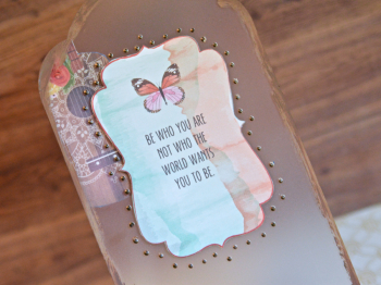 Creating Made Easy May Kit Pinky Hobbs Phone Stand - 5