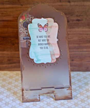 Creating Made Easy May Kit Pinky Hobbs Phone Stand - 5