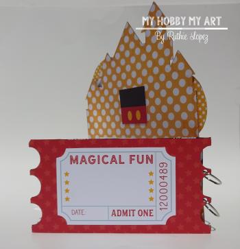 Magical Mini Album  Clear Scraps Kits  Ruthie Lopez 8