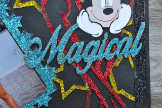 Disney_layout_clear scraps_magical