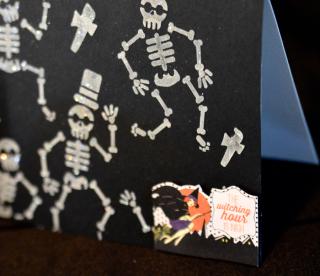 Clear Scraps Skull Stencil Pinky Hobbs - 2