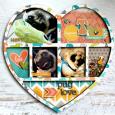 Pug Love Frame