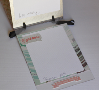 Clear Scraps 5 Reason Mixable Album by Pinky Hobbs - 5