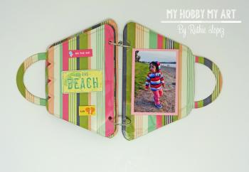 Mini album  Clear Scraps Kits  Ruthie Lopez 6