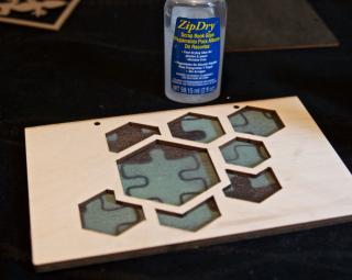 Clear Scraps Molecule Wood Shaker Album Pinky Hobbs - 8