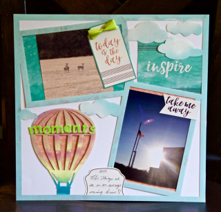 Clear Scraps Moments Layout by Pinky Hobbs - 4