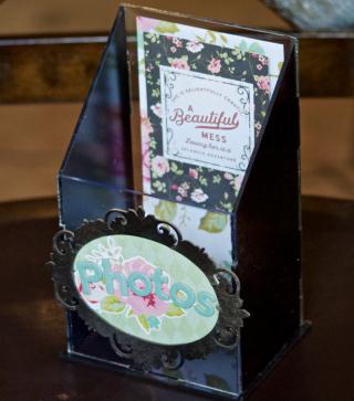 Clear Scraps photo acrylic box pinky hobbs - 2