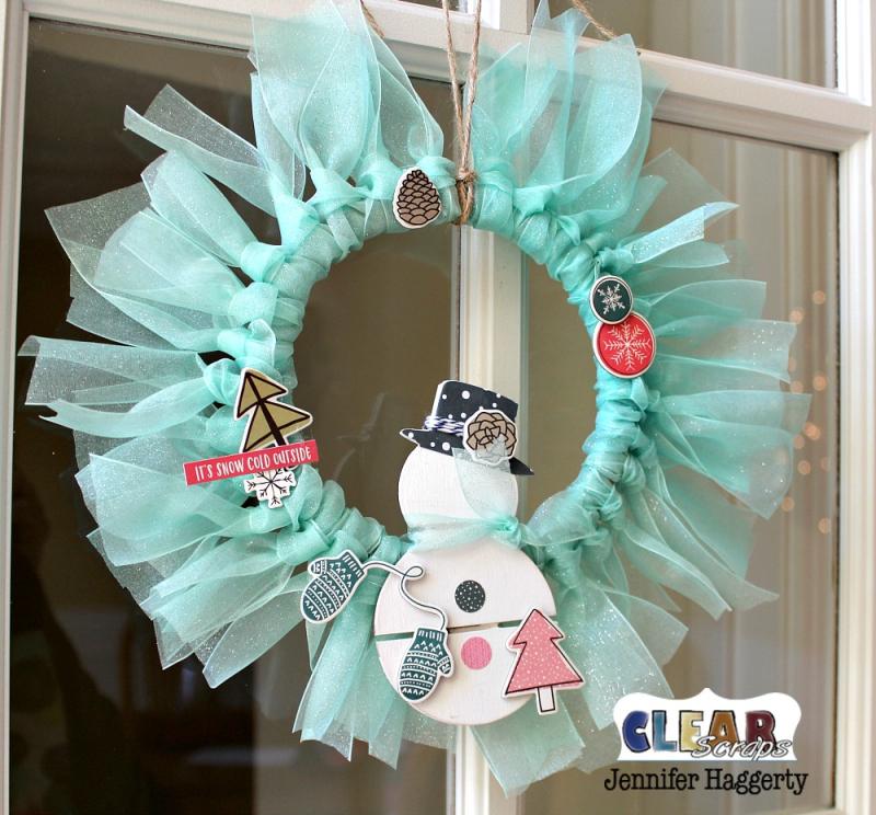 Clear_Scrap_Snowman_Mini_Pallet_Shape_Wreath