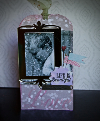 Clear Scraps Love Journey Tag by Pinky Hobbs - 2