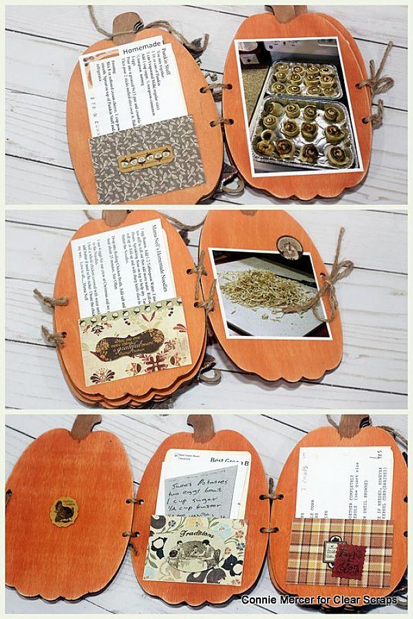 Pumpkin Shaker Album3_Clear Scraps_C. Mercer