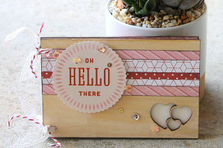 Clear Scraps_Hello There_Card Front