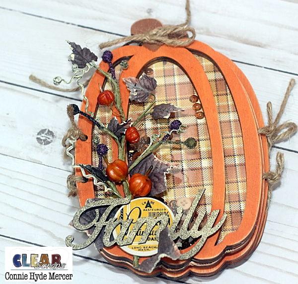 Pumpkin Shaker Album1_Clear Scraps_C. Mercer