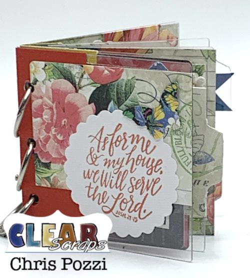 ClearScrapMiniTabAlbum