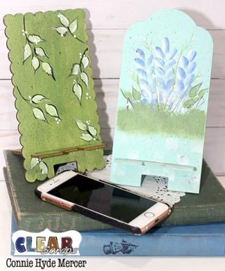 Scallop phone stand3_clear scraps_c.mercer