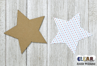 Patriotic Shaker Wand by Annie Williams for CS - Paper