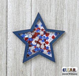 Patriotic Shaker Wand by Annie Williams for CS - Assembled Shaker