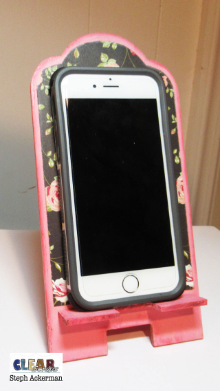 Floral-phone-stand-clearscraps-steph-ackerman