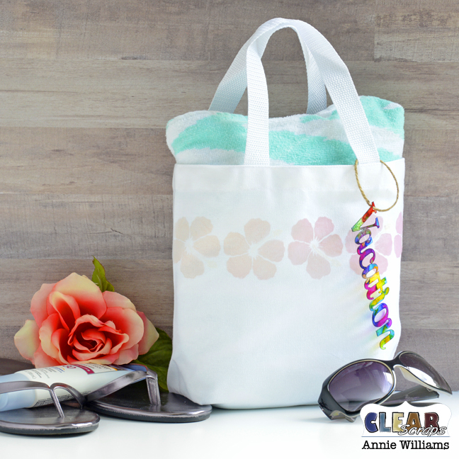 Color Changing Vacation Tote by Annie Williams for Clear Scraps - Main